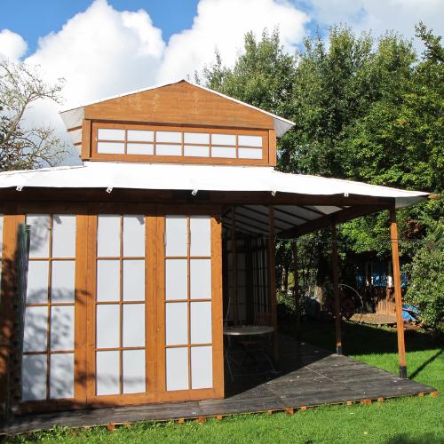 Zu Mieten: Jap. Tee-Pavillon